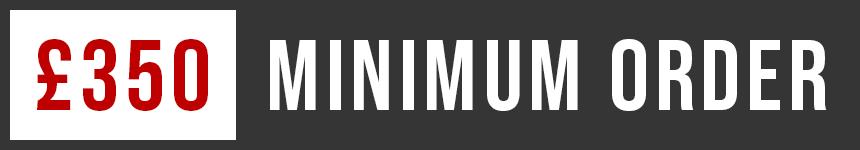 £350 Minimum Order