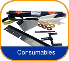 Consumables Ink Duct Foils Suckers Wash Up Blades
