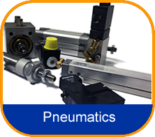 Pneumatics including pistons, solenoids, filters, auto plate clamps