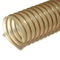 80 mm Clear Polyurethane Reinforced Compressor Ducting / Hose