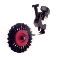 Brush Wheel Complete with Clamp - Circular Bar (Left-Hand Side)