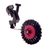 Heidelberg Brush Wheel Complete with Clamp - Circular Bar (Right-Hand Side)
