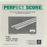 Thompson Center Score - Card (T-301)