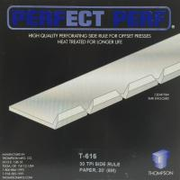 ThompsonT-616 Side Micro-Perf - 30 TPI - Paper - 20' Foot (6 Meters)
