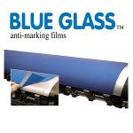 Blue glass anti marking film